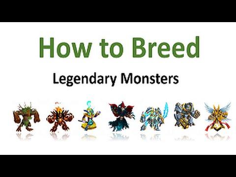Как вывести легендарных монстров в Monster Legends. Лучшие и верные комбинации